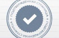 Как получить верификацию или поставить галочки Вконтакте?