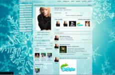 Как установить темы Вконтакте или вернуть стандартную